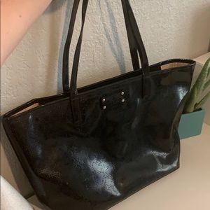 Kate Spade Metro Patent Leather Tote